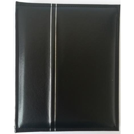 Fotoalbum na rožky 22x27/60s. SILVER LINE čierny