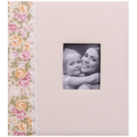 Detský fotoalbum na rožky SURPRISE krémový
