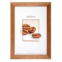 Drevený fotorámik DR011K 20x30 01