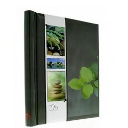 Samolepící fotoalbum 23x28/60s WELNESS zelená