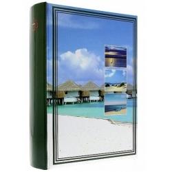 Fotoalbum 10x15/200 s popisom  JOURNEY zelený