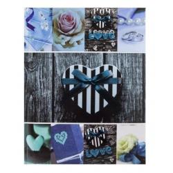 Fotoalbum 10x15/200 s popisom JOY modrý
