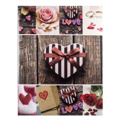 Fotoalbum 10x15/200pop JOY ružový