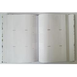 Neutrálny fotoalbum 10x15/300 foto TRADITION biely