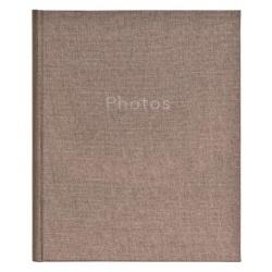 Zastrkávací fotoalbum 10x15/36 PURE LINEN  šedý