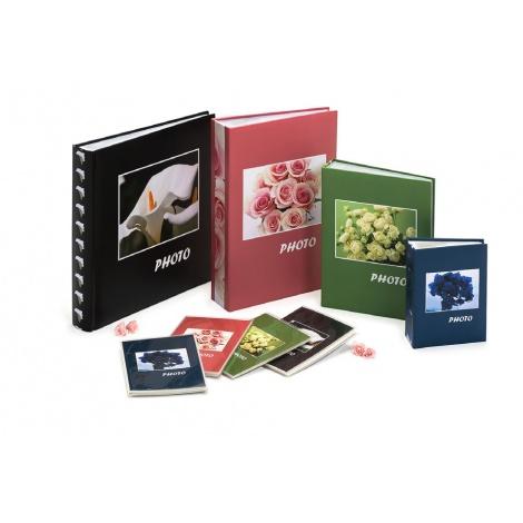 Fotoalbum na rožky 30x30/100s. BOUQUET zelený