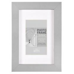 MDF fotorámik A4 21x30cm BLOCK FRAME šedý